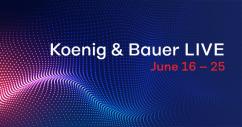 Koenig & Bauer LIVE проводит онлайн-презентацию печати по гофрокартону